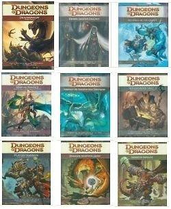 [UPDATE]Dungeons & Dragons 4.0 -  Core Rules(Player,Master,Monster) + 6 weitere Bücher 56% günstiger