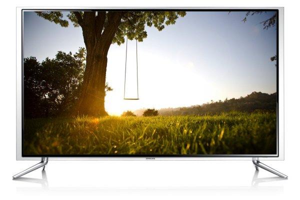 Samsung UE40F6890 101 cm (40 Zoll) 3D-LED-Backlight-Fernseher, EEK A (Full HD, 400Hz CMR, DVB-T/C/S2, CI+, WLAN, Smart TV, HbbTV, Sprachsteuerung) schwarz