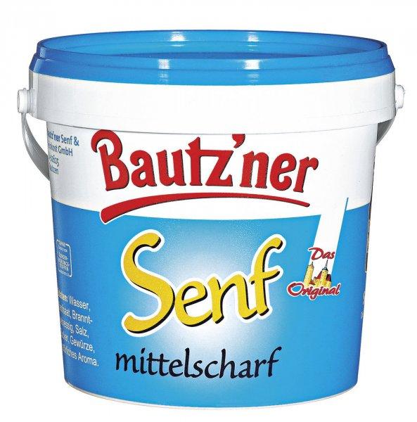 Bautz'ner Senf 1-kg-Eimer für 0,99€ bei real (im Markt) Osten lokal