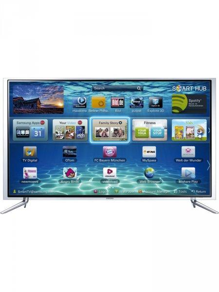 Amazon.de Samsung UE46F6890 116 cm (46 Zoll) 3D-LED-Backlight-Fernseher, EEK A+ (Full HD, 400Hz CMR, DVB-T/C/S2, CI+, WLAN, Smart TV, HbbTV, Sprachsteuerung) schwarz