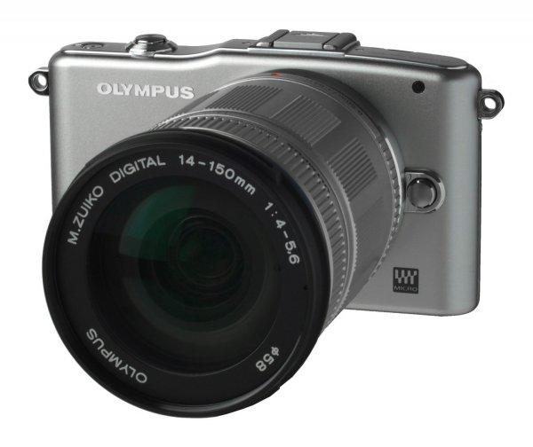 [amazon.es] Olympus PEN E-PM1, silber mit Objektiv M.Zuiko digital ED 14-150mm für 310,89