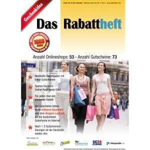 Rabattheft mit 73 Gutscheinen für 14,95€ statt 23€
