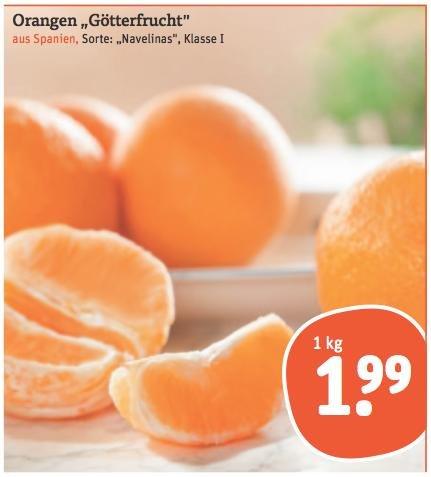"""tegut """"Götterfrucht"""" Orangen 1,99€/kg -> Qualität statt Quantität"""