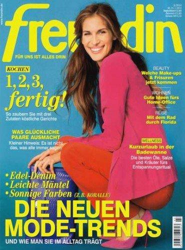 """Halbjahresabo der Zeitschrift """"Freundin"""" für 3,80€ durch Scheck"""