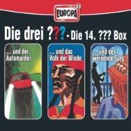 Amazon MP3 Alben: Verschiedene 3 er Boxen von Die Drei ??? für 4,99 €