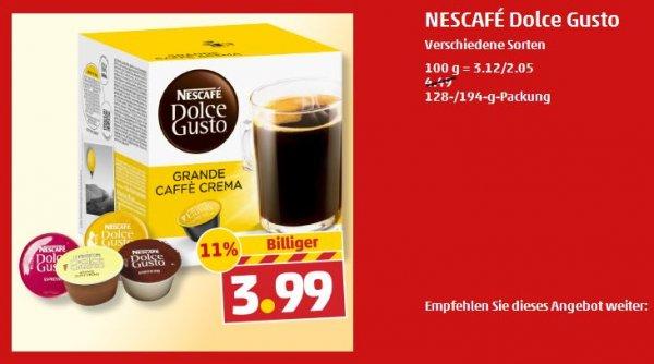 Nescafé Dolce Gusto Kapseln für 3,99€ bei Penny (lokal?)