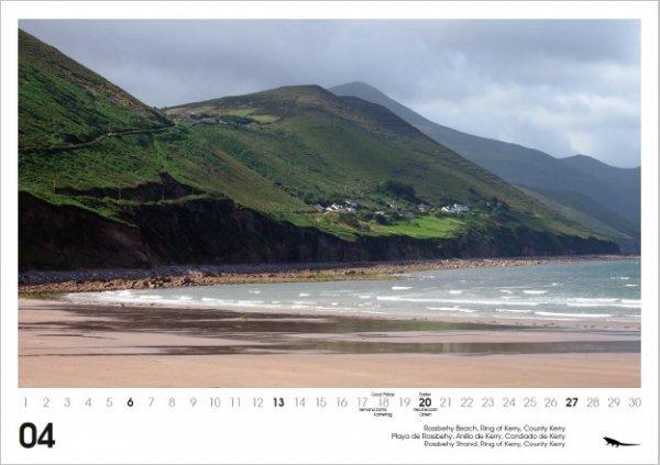 Ireland Irlanda Irland Kalender 2014 DIN A3 english/espanol/deutsch - Versand kostenlos