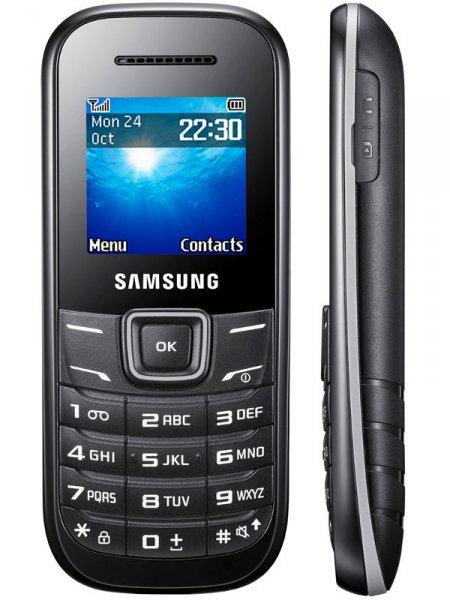 Samsung E 1200 schwarz  als Ersatz Handy oder Kinder, Oma,Opa und Smartphoneverweigerer