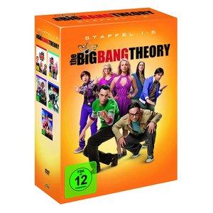[real] DVD-Box The Big Bang Theory Staffeln 1-5
