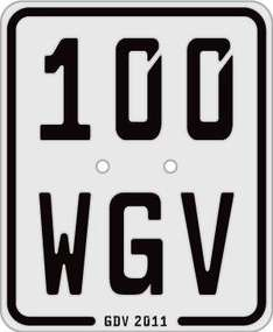 Mofa, Moped, Roller 50ccm Kennzeichen ab 42,90 Euro WGV Versicherungen