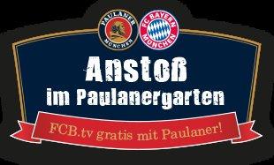 1 Monat FCB.TV gratis bei Kauf eines Kasten Paulaner