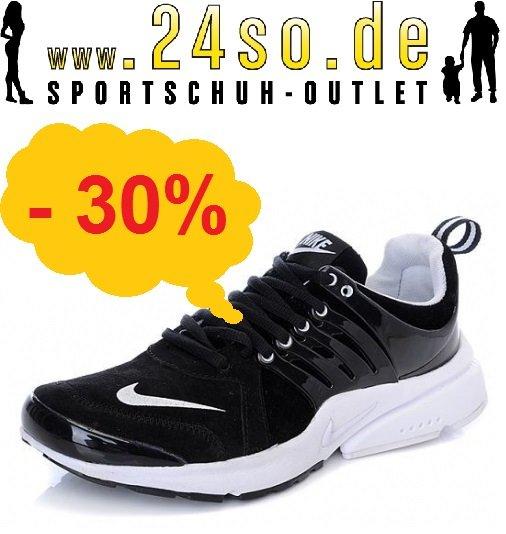 Nike Air Presto Laufschuh schwarz/weiß