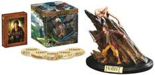Der Hobbit: Eine unerwartete Reise - Extended Edition 3D/2D Sammleredition (5 Discs, inkl. WETA-Statue)