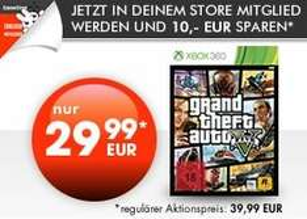 GTA V (Xbox 360) 29,99€ @ gamestop (für Gamestop + Mitglieder)