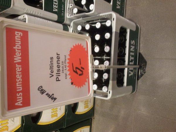 Lokal - Ahrensburg Veltins 24x0.33 für 5,- wg MHD
