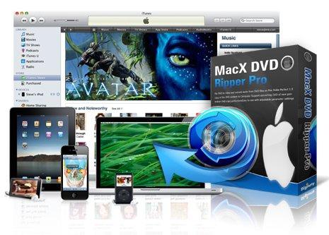 0€ statt $59.95 - Free WinX DVD Ripper Platinum und MacX DVD Ripper Pro