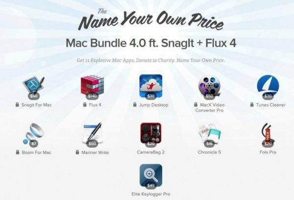 (MAC) Das Stacksocial Mac Bundle 4.0 mit 11 Apps zum selbst bestimmten Preis