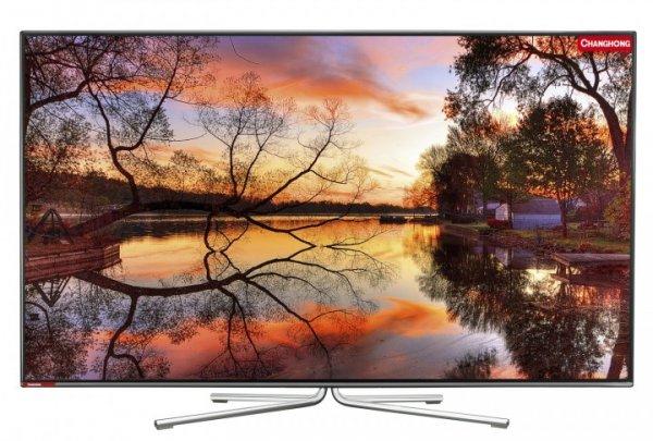 """Changhong UHD55B6000IS für 1249€- 55"""" UHD-TV mit 4K Auflösung, 3D und allen Extras @ Comtech"""