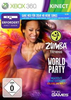 Xbox - Zumba Fitness World Party Collectors Edition für 22,97€