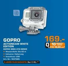 GoPro HERO3 White Edition 169€ Lokal [Saturn Duisburg]