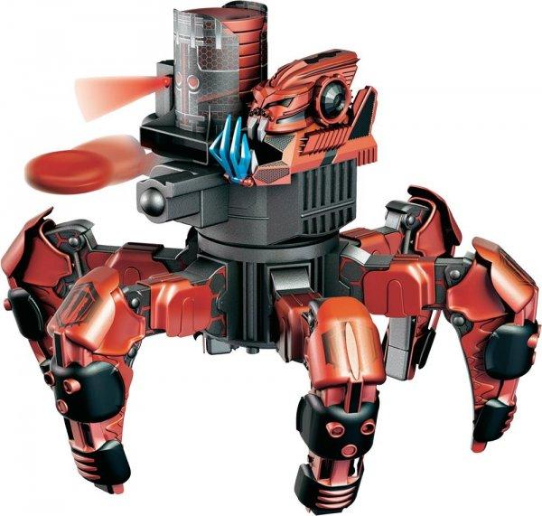 DICKIE RC Roboter Combat Creature - Atacknid Doom Razor - 30cm All Terrain Kampf Roboter mit Fernbedienung, Schussfunktion, LED Licht und Sound für 32,94 EUR inkl. Versand + Gratis Schneemann @ mytoys.de