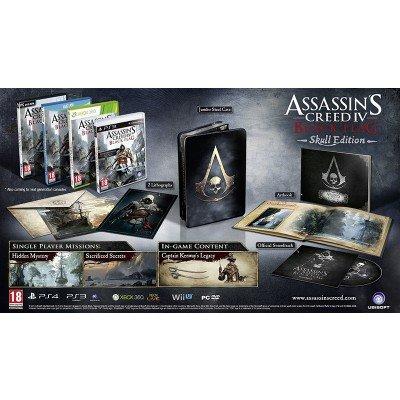 ASSASSINS CREED IV: BLACK FLAG - SKULL EDITION XBOX 360 für 32,92€