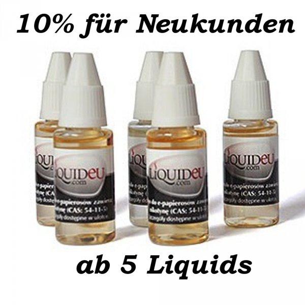10% für Neukunden ab 5 Liquids bei Liquids-Time Rabattcode:Neukunde2014