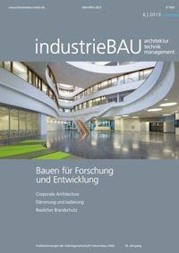 """Gratis-Exemplar (Normalpreis 23Euro)  Fachzeitschrift """"industrieBAU"""""""
