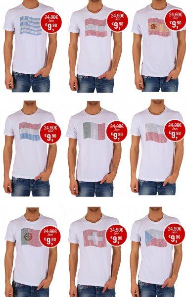 WM 2014 Luxus Strass T-Shirts von Cipo & Baxx 60% reduziert bei Brands Store