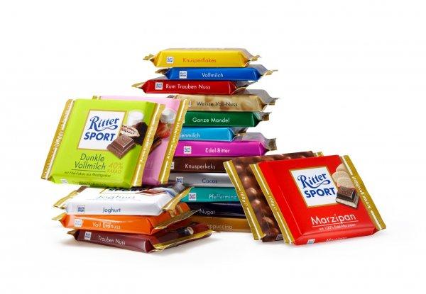 [Lokal?] Ritter-Sport Schokolade 100g verschiedene Sorten für 0,59€ @ Netto ohne Hund