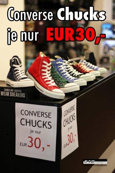 CONVERSE Chucks (All Star) hi/lo viele Farben 30€ - lokal KAISERSLAUTERN