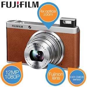 Fuji XF1 High-End Kompaktkamera - Braun