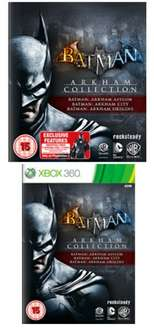 Batman Arkham Trilogy (PS3/X360) für 34,03 € inkl. Versand @ GAME UK