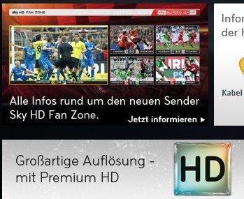 Sky schaltet für Sat-Kunden alle HD-Sportkanäle kostenfrei [HD-Feeds]