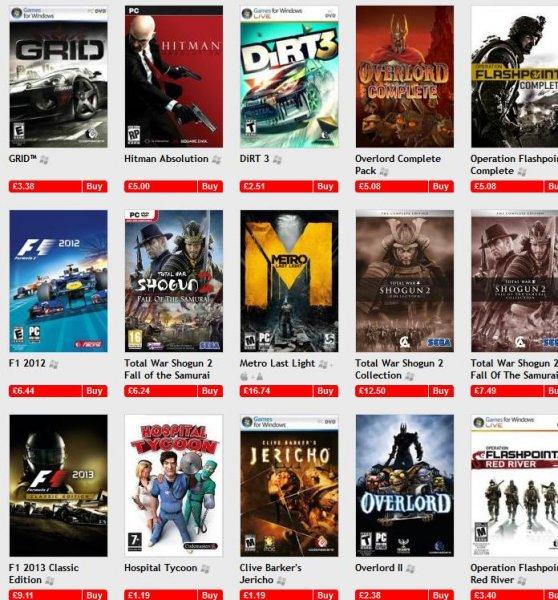 [Steam] Dirt 3 3,05€,GRID 2 ™6,07€,F1 2013 8,30€,F1 2013 Classic Edition 11,08 uvm