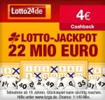 Wieder da: 4€ Cashback von Qipu für Lotto24 Registrierung und anschließendem Spiel (mind. 1,60€ Einsatz)