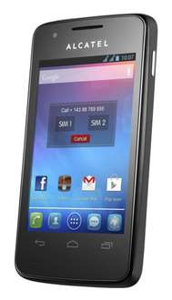 [Amazon;Notebooksbilliger ONLINE] Alcatel One Touch 4030D; Dual-Sim Smartphone, 53,92€