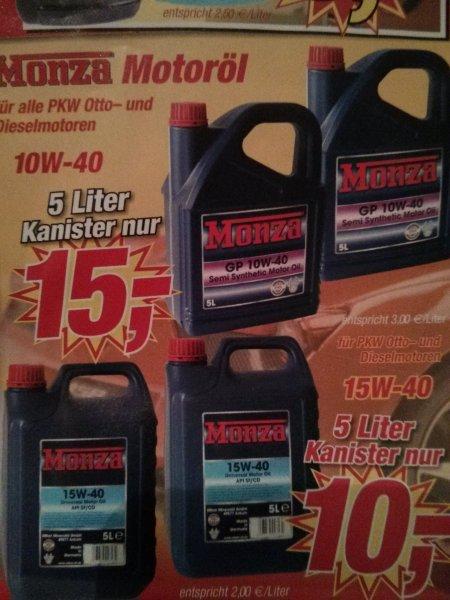 Günstiges Motoröl bei Posten Börse (lokal/offline)