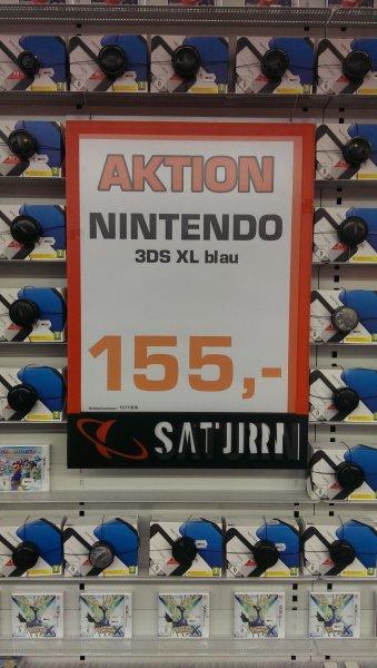 [Lokal] Saturn Siegen - Nintendo 3DS XL blau für 155 €