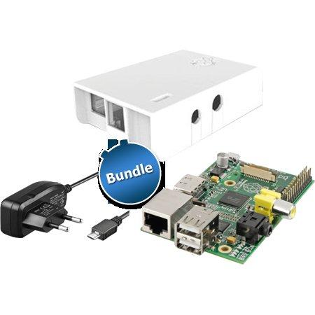 Raspberry Pi Model B (512MB) inkl. Netzteil und Gehäuse für 39,99€ inkl. Versand bei zackzack.de