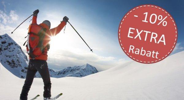 10% Rabatt auf Skipass-Onlinekauf bei snowbon.de