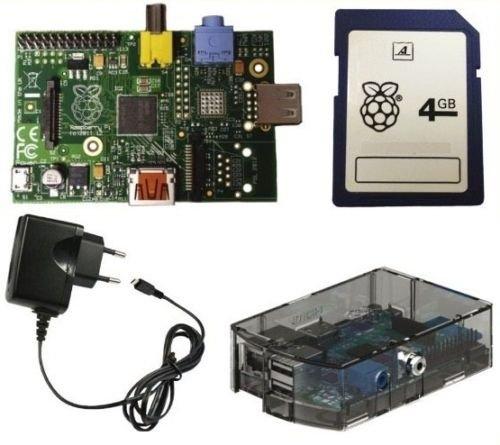 [Ebay] Raspberry Pi B Rev 2.0 512 MB RAM + Gehäuse + Netzteil + 4GB Speicherkarte