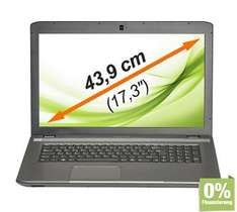 MEDION AKOYA E7223 17,3 Zoll Notebook für 399,-