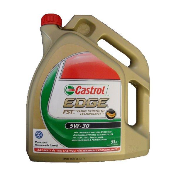 Castrol Synthese Motorenöl Edge SAE 5W-30 - 5 Liter
