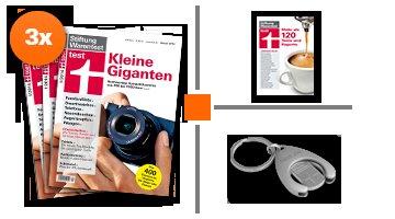 Stiftung Warentest Jahrbuch 2014 + 3 Ausgaben (Kündigung per Email möglich)
