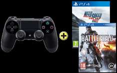 PS4: NFS Rivals + BF4 + Dualshock 4 Controller, sofort lieferbar. [CH]