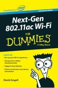 Gratis-E-Book: Next-Gen 802.11ac Wi-Fi For Dummies