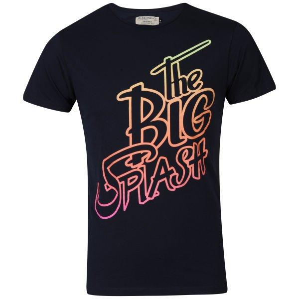 (UK) Jack & Jones Men's Gradient Neon T-Shirt (L, XL, XXL) @ Zavvi