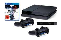[Amazon] Playstation 4 Inkl. Killzone:Shadow Fall + 2 DualShock 4 Wireless Controller + Kamera Sofort lieferbar