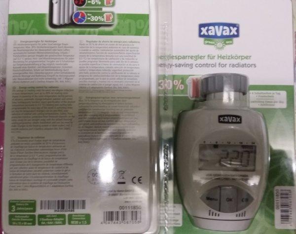 Xavax Energiesparregler 0011185 weiß für Heizkörper Neu inkl. 2 Mignon Batterien